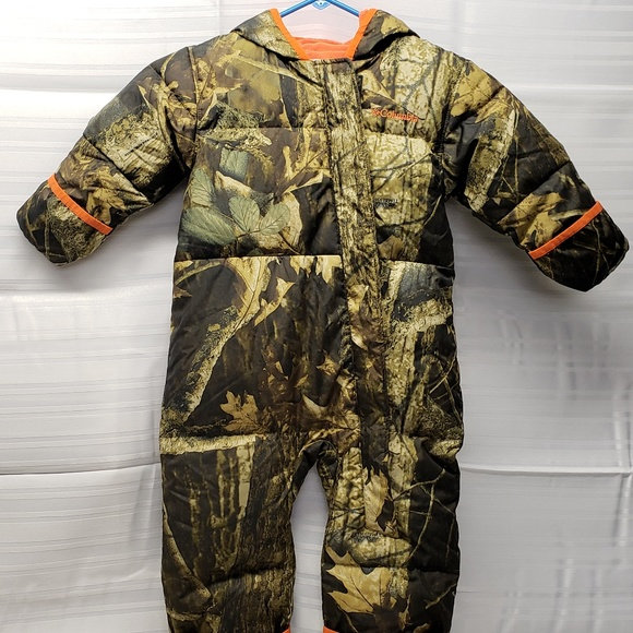 b9c02d448 Columbia Other - Columbia 18-24mos. Timberwolf Camouflage Snowsuit